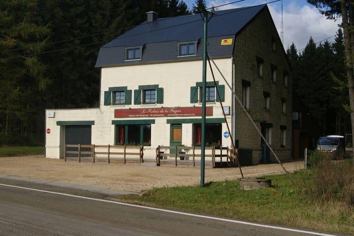 Modernes Ferienhaus mit Sauna in Bihain