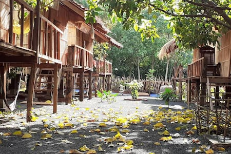 paradise near Banlung, The tribal village homestay