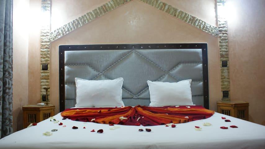 Chambre supérieure avec terrasse - Asni - Bed & Breakfast