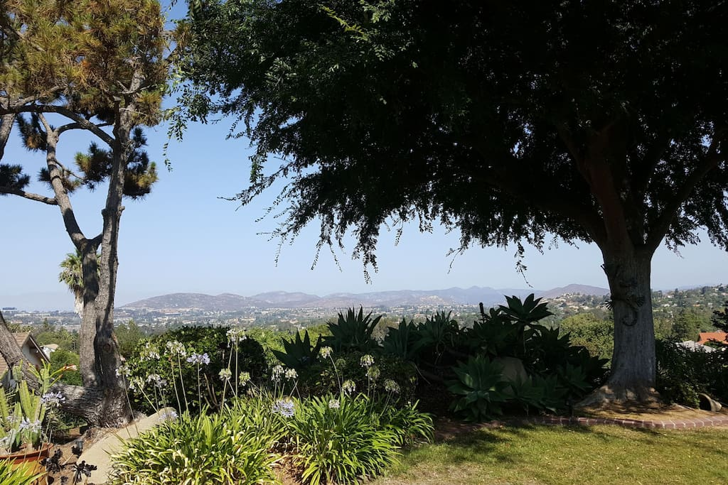 A portion of the panoramic view from the front porch.