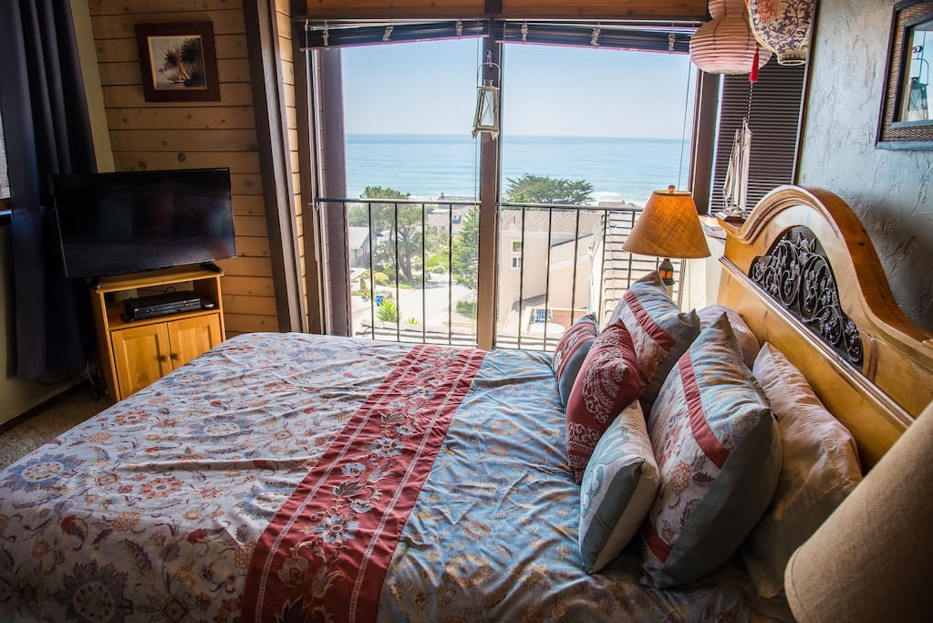 Wake up to ocean views from your window in the master bedroom