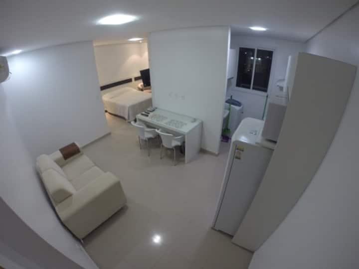 205 Flat com cozinha em bairro nobre - Vieiralves