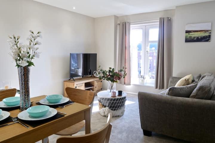 No 15- Luxury Nantwich  2-bed apartment