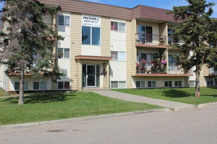 Quiet 1 bedroom apartment (102 A)