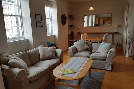 Perfectly Located Royal Mile Flat - Double Bedroom - Edimburg - Pis
