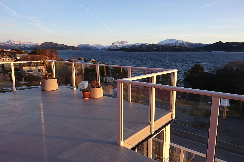 veranda with beautiful view