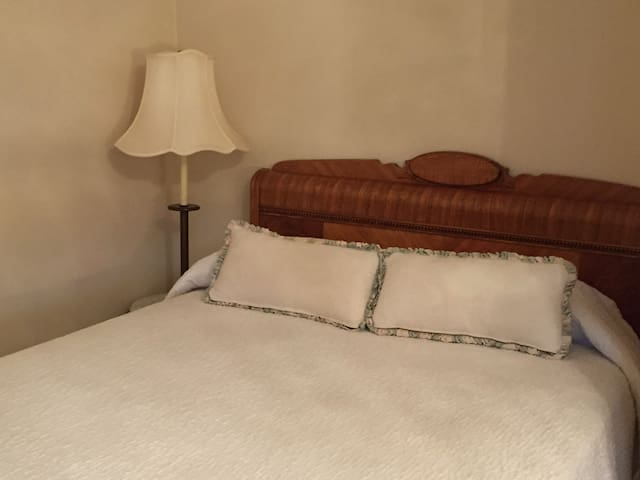 Double Bed, Depression Era Waterfall