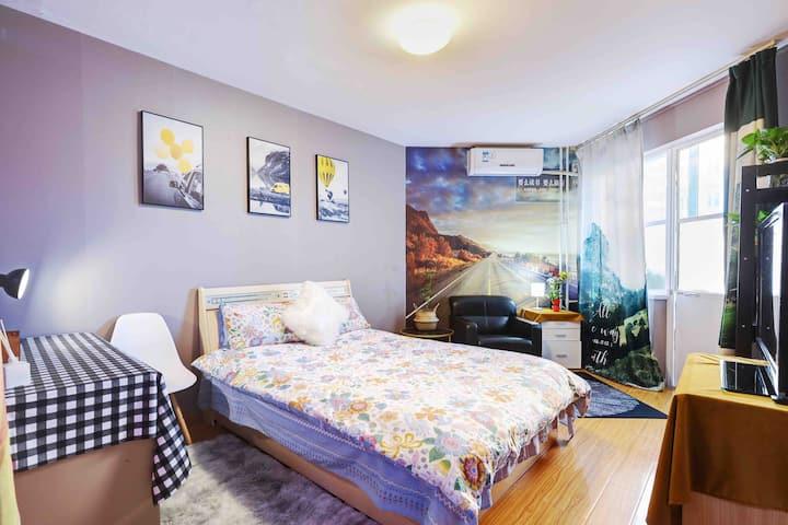 纽约公寓 五道口 六道口近地铁 简约舒适一居,仅接受长租。
