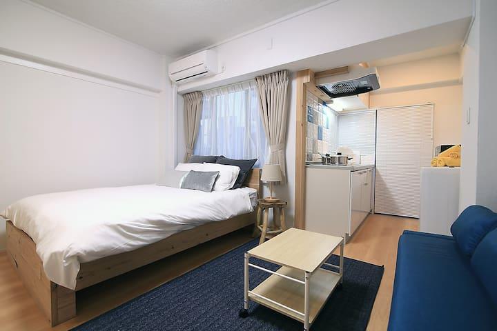 R304)新宿(神楽坂) *免费WIFI *