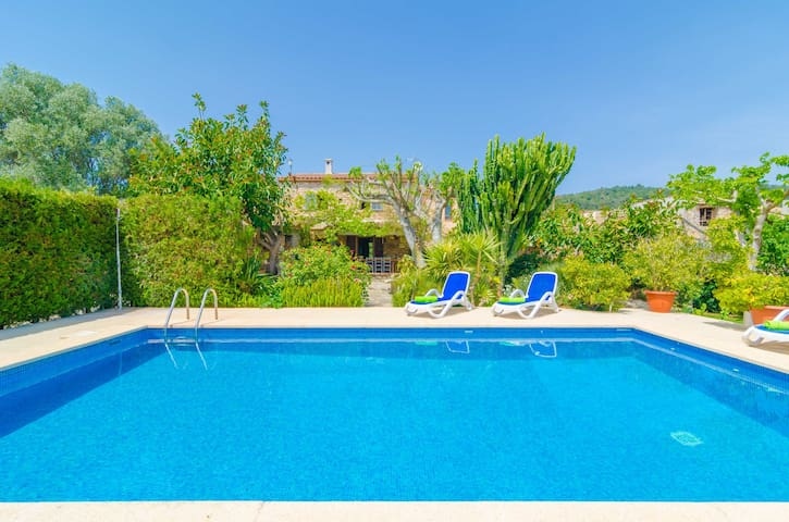 ES RAFAL DE BAIX - Villa for 8 people in Son Servera.