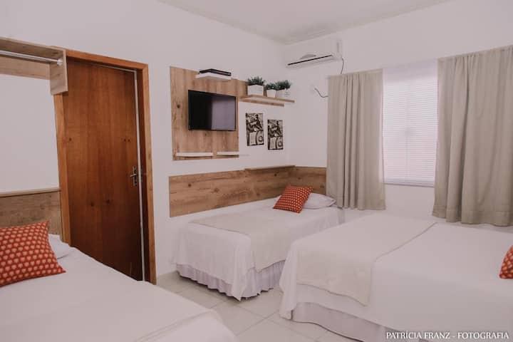 Pousada Villa D'Ouro Quarto Familia Comfort