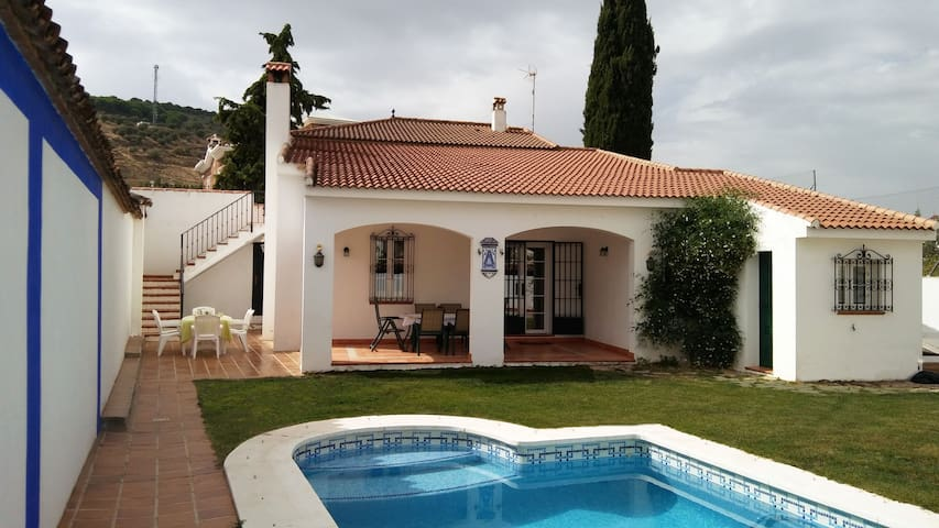 Traditional Andalusian villa with pool, garden