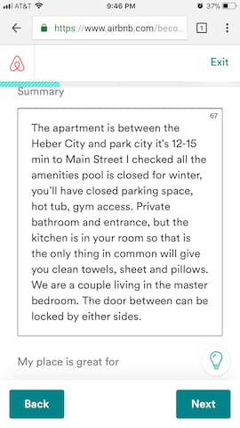 private room&bathroom for sundance only