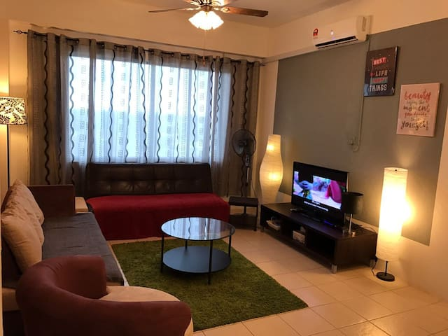 A Homely Condominium in the heart of the Cat City - Kuching