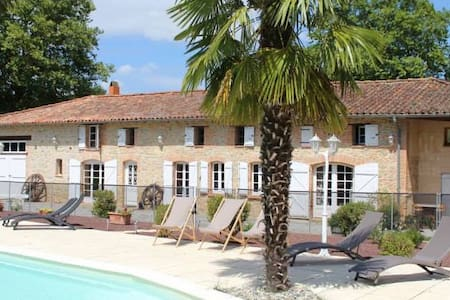 Chambre Nuage - Maureville - Bed & Breakfast