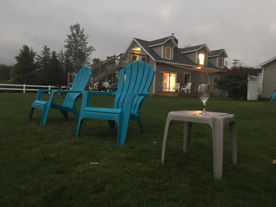 Relax in the lawn
