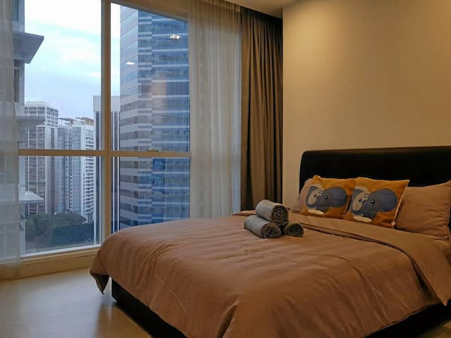 Luxury KLCC 1 BEDROOM  (2 Pax) near to KLCC & LRT