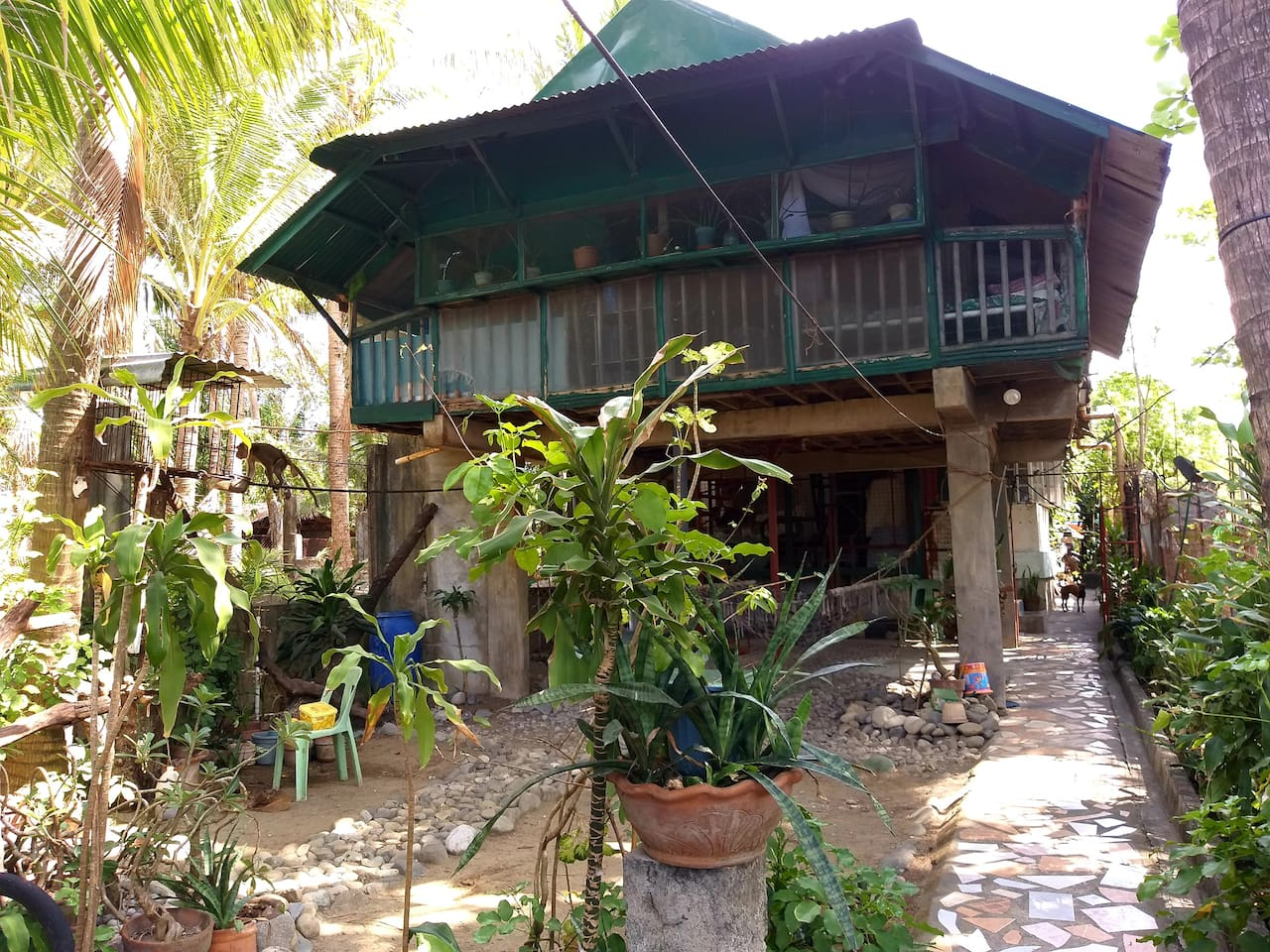 Soulful Bliss Beach Home is a one-room house that consist the beds, sala, kitchen, comfort room and shower room.  If you come here, leave the comforts of your home and try to embrace life simplicity and experience different adventure.
