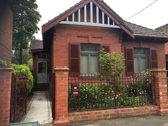 1920 Victorian Cottage in Fitzroy