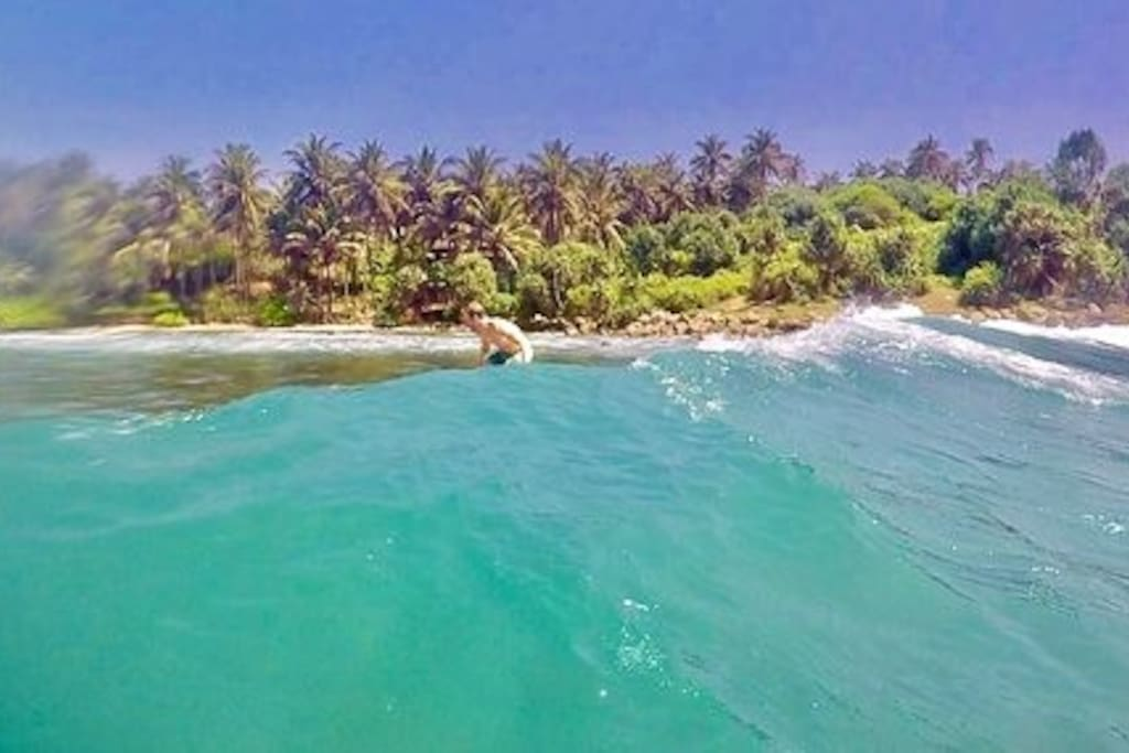 our surfing sesion