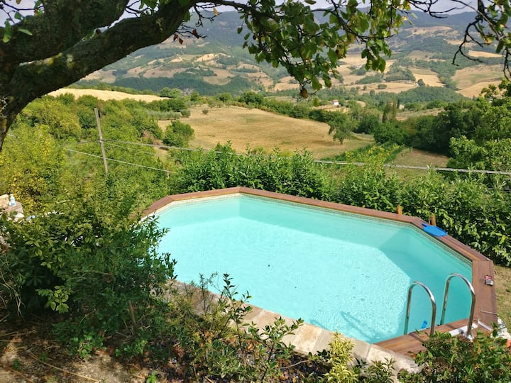 Apartment with 2 bedrooms in Assisi, with shared pool and WiFi