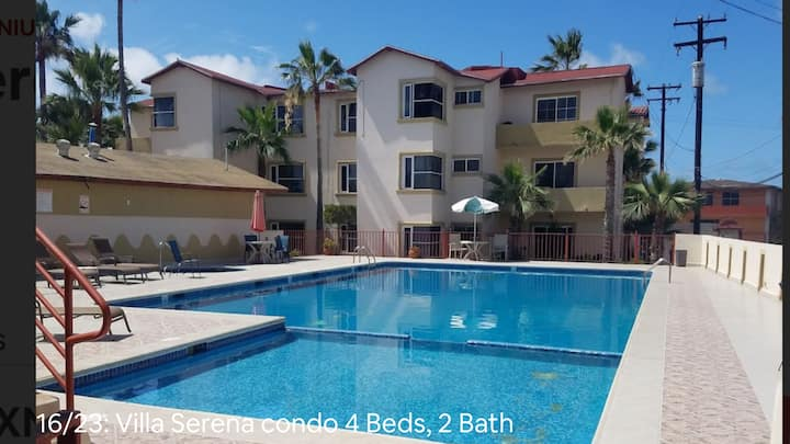 BEAUTIFUL CONDO IN ROSARITO (VILLA SERENA)