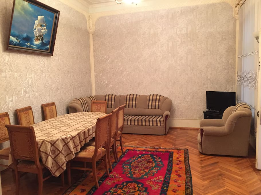Большая роскошная гостиная, Big guest room