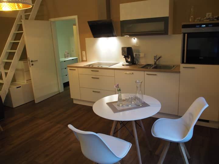 Helmstedt 1-Zi-Wohnung mit Bad und Terrasse
