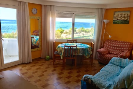 Apartamento 1ª linea de mar. Pineda de mar. Wifi