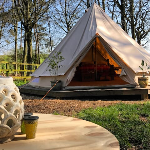 King Bell Tent at Happy Valley Norfolk - Grimston - Tenda