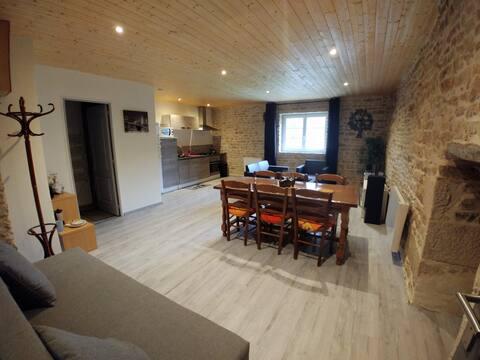 Uchizy : appartement  de 50m2