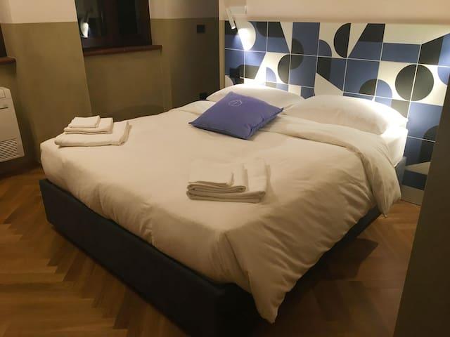 Double bedroom in a little cozy castle