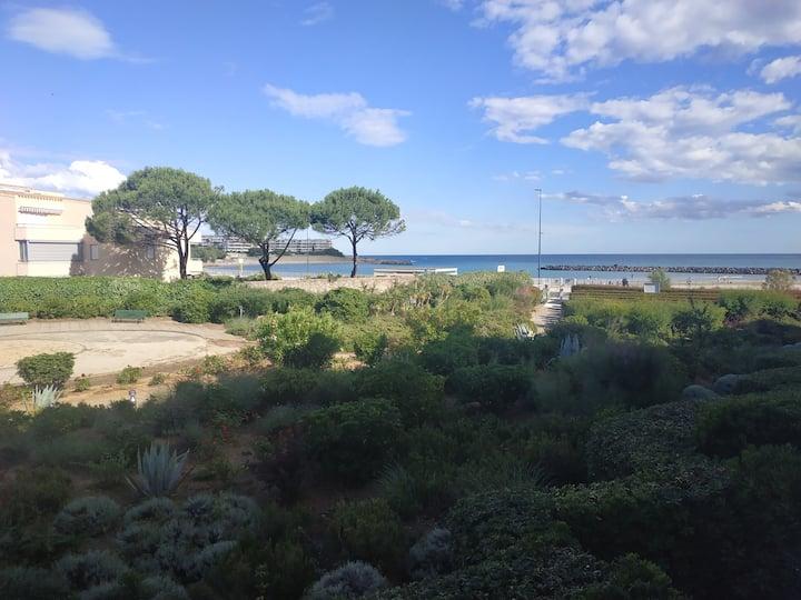 Sète - Studio cabine front de mer