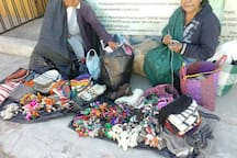 Artesanas de San José del Pacífico