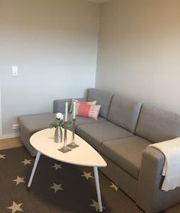Nyere leilighet med fin beliggenhet