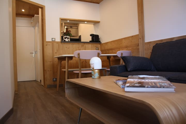 Gâtions 1013 1 bedroom new apartment full of charm - Morzine