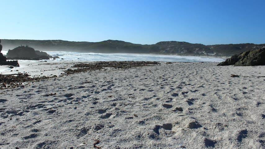 Grotto Bay private beach
