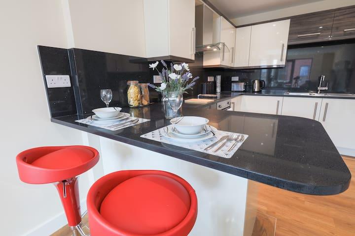 Luxury living stunning city centre apartment