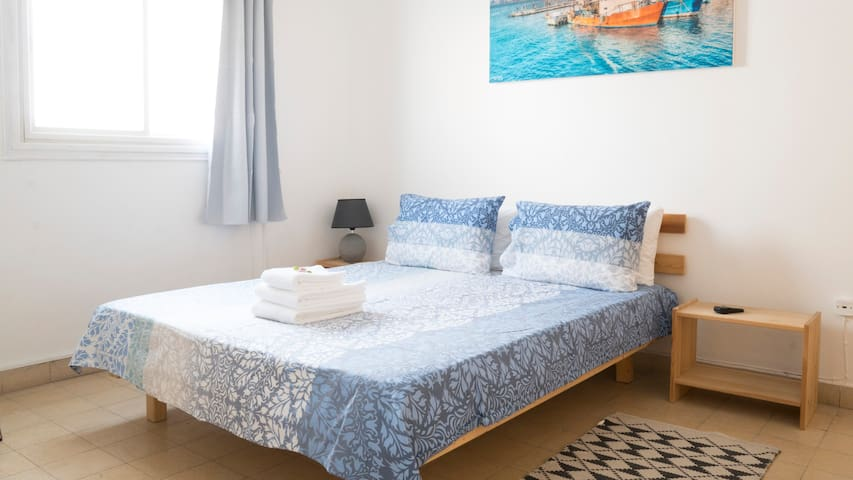 ☀️ Comfy Room 1min walk from Levinsky Market ☆ AC