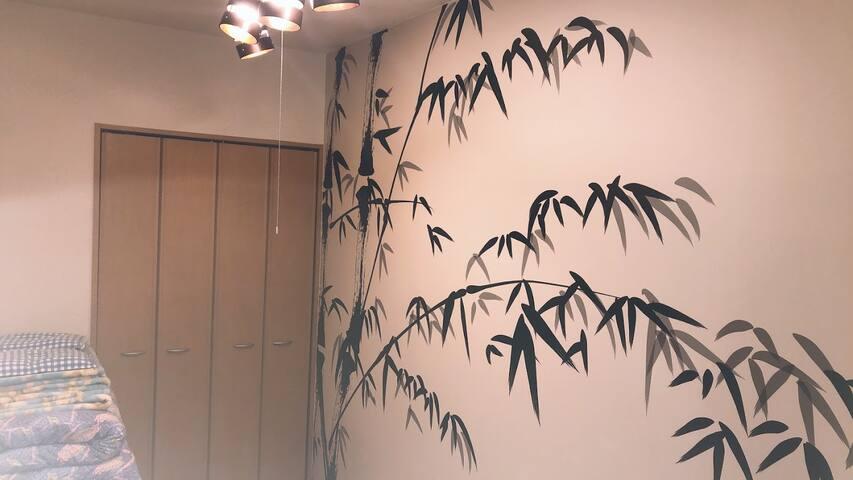 春日井駅から徒歩1分! 名古屋観光におすすめの1LDK・ワンフロア貸し切り・プロジェクターつきのお部屋