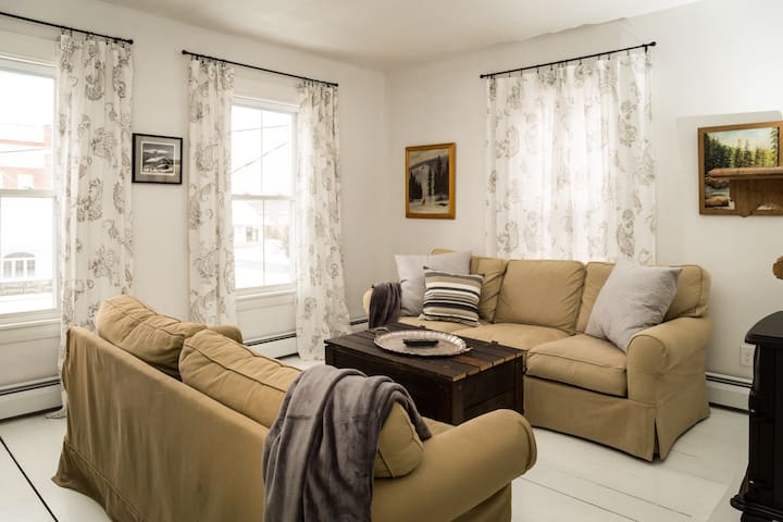 Chic New England Apartment - Gorham - Apartamento