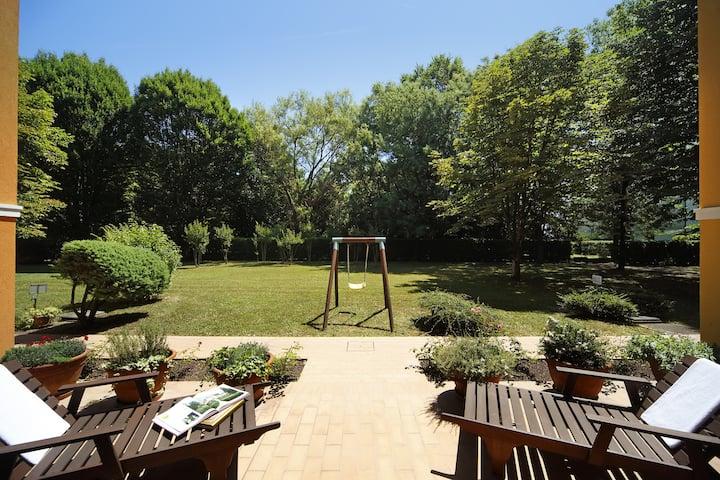 Relax  in bella casa con giardino vicino a Venezia