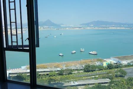 Double-bed Room Near Airport,AsiaExpo,Disney東涌站大床房 - Hong Kong - Apartmen