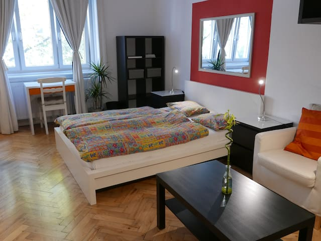 Spacious 1 bedroom private flat in prime location