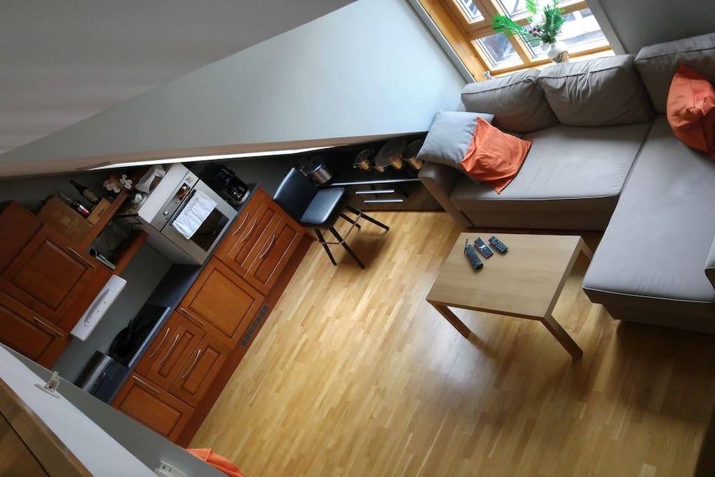 High ceilings,- high comfort!