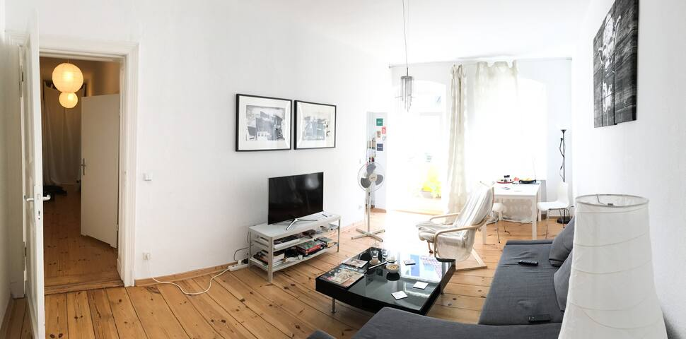 2 rooms with a balcony in the ♥ of Prenzlauer Berg