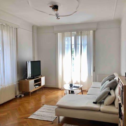 Bel appartement proche centre & gare de Lausanne