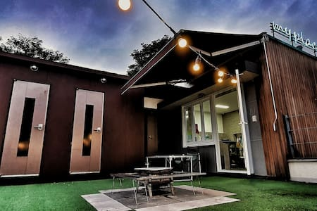 Palgonsan city park BBQ Roof top house 'My Place'