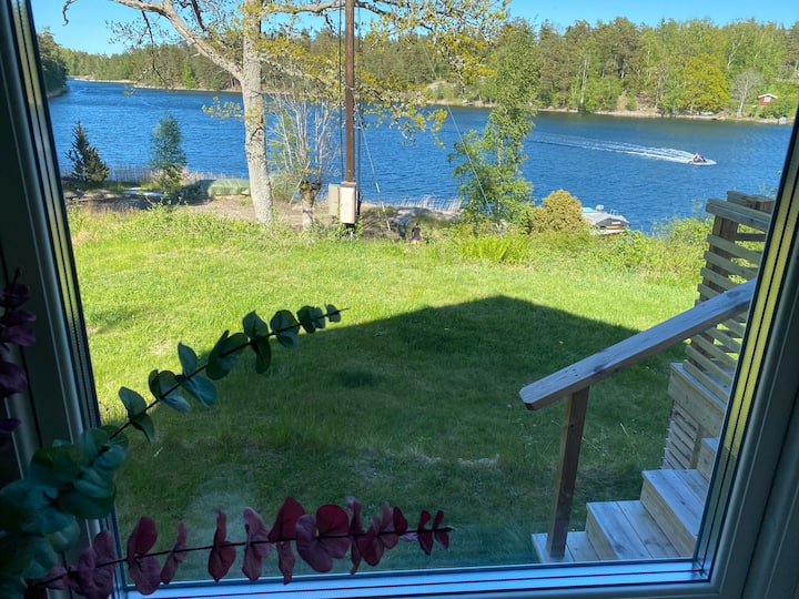 Your own waterfront house in the Archipelago!