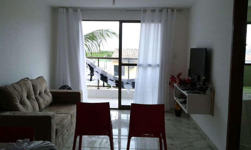 Condo(104) 2 bedrooms, 2 wc. 800ft away beach+Wifi - Ipojuca